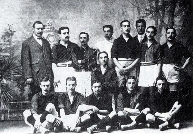 El FC Barcelona ganó su primera Copa del Rey en 1910 - Odio Eterno Al Fútbol Moderno
