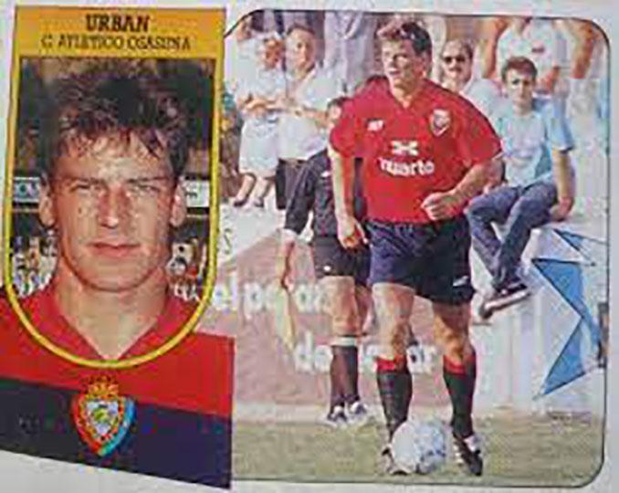 Cromo de Jan Urban - Odio Eterno Al Fútbol Moderno