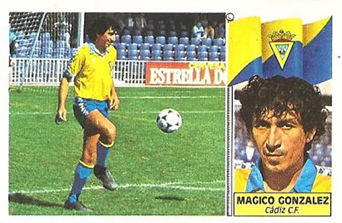 Cromo de Mágico González - Odio Eterno Al Fútbol Moderno