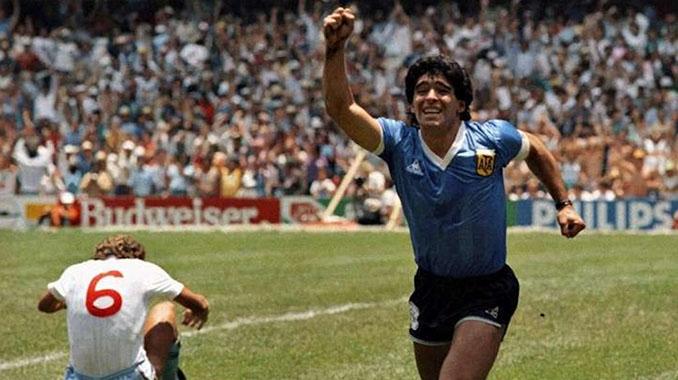 La camiseta del duelo entre Argentina e Inglaterra en 1986 es una de las más codiciadas por los aficionados - Odio Eterno Al Fútbol Moderno