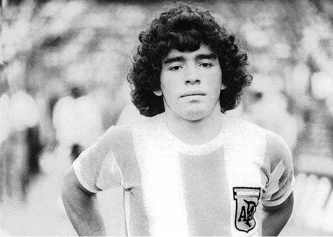 El debut de Maradona con Argentina se produjo el 27 de febrero de 1977 - Odio Eterno Al Fútbol Moderno