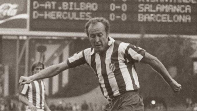 Marcial Pina durante su etapa en el Atlético de Madrid - Odio Eterno Al Fútbol Moderno