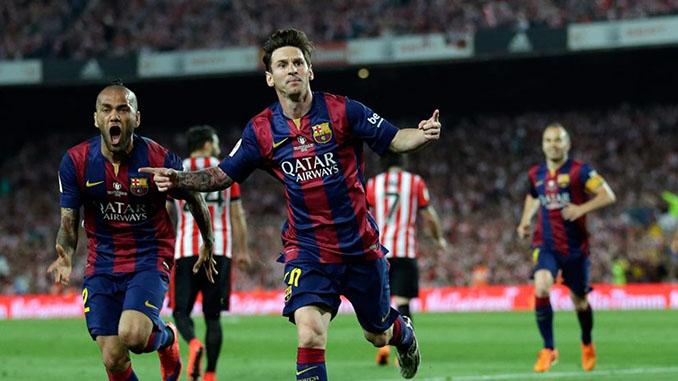 Messi hizo una obra de arte ante el Athletic Club en la final de Copa de 2015 - Odio Eterno Al Fútbol Moderno
