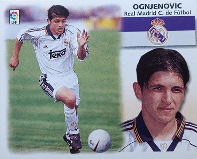 Cromo de Perica Ognjenović - Odio Eterno Al Fútbol Moderno