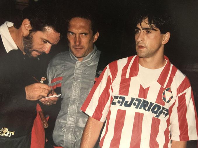 Raúl Ruiz debutó en Primera División con el CD Logroñés - Odio Eterno Al Fútbol Moderno