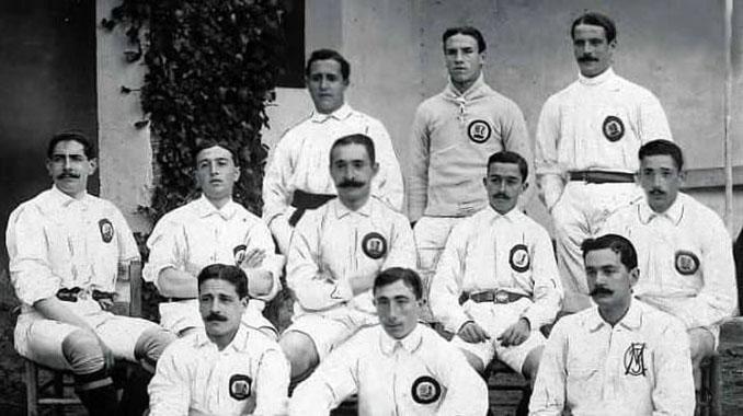 Plantilla del Real Madrid en el primer Clásico de la historia - Odio Eterno Al Fútbol Moderno
