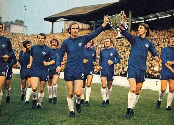 Chelsea campeón de la Recopa de 1971 - Odio Eterno Al Fútbol Moderno
