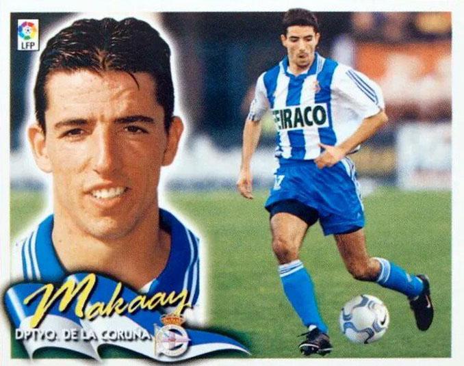Cromo de Roy Makaay - Odio Eterno Al Fútbol Moderno