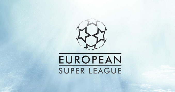 Logo de la Superliga europea - Odio Eterno Al Fútbol Moderno