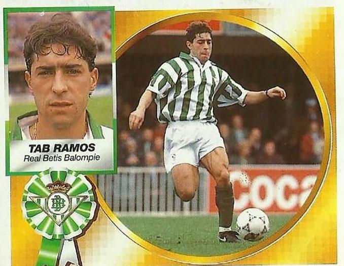 Cromo de Tab Ramos - Odio Eterno Al Fútbol Moderno