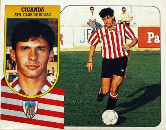 """Cromo de """"Cuco"""" Ziganda - Odio Eterno Al Fútbol Moderno"""