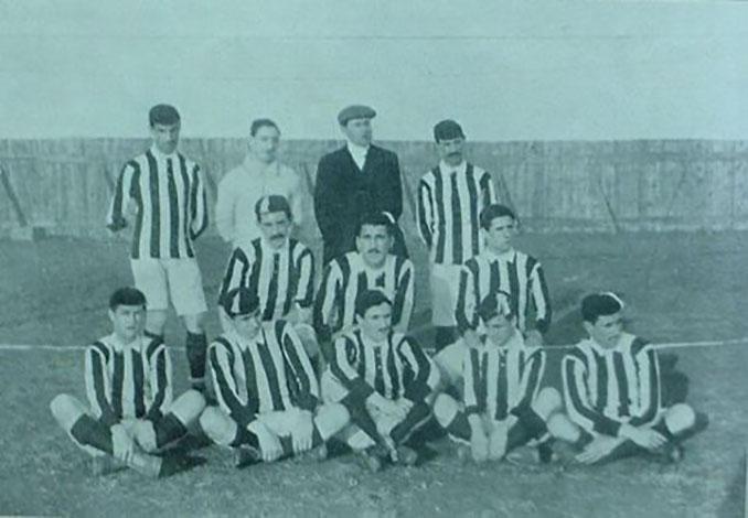Athletic Club campeón de la Copa del Rey en 1910 - Odio Eterno Al Fútbol Moderno