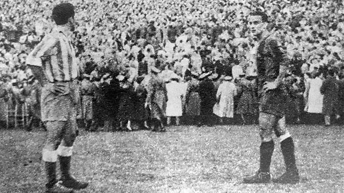Barcelona y Espanyol disputaron el derbi catalán más tenso de la historia en 1952 - Odio Eterno Al Fútbol Moderno