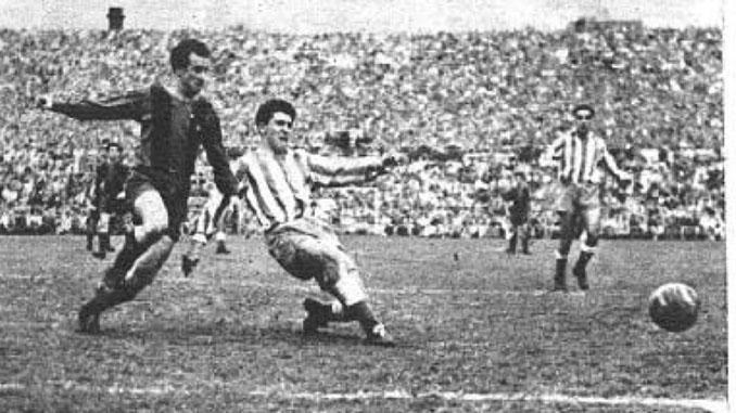 Barcelona vs Espanyol disputado en Les Corts en 1952 - Odio Eterno Al Fútbol Moderno