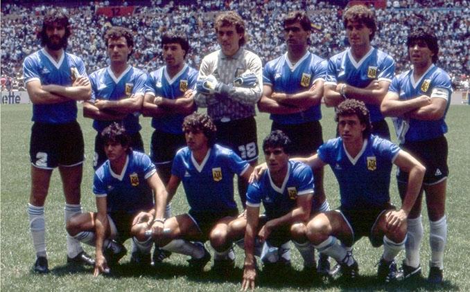Camiseta de Argentina en el partido ante Inglaterra del Mundial de 1986 - Odio Eterno Al Fútbol Moderno