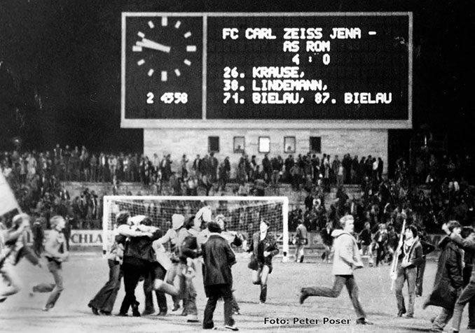 FC Carl Zeiss Jena vs AS Roma de la Recopa de Europa 1980-1981 - Odio Eterno Al Fútbol Moderno