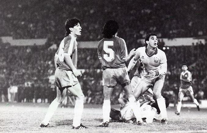 Chile vs Brasil disputado el 13 de agosto de 1989 - Odio Eterno Al Fútbol Moderno