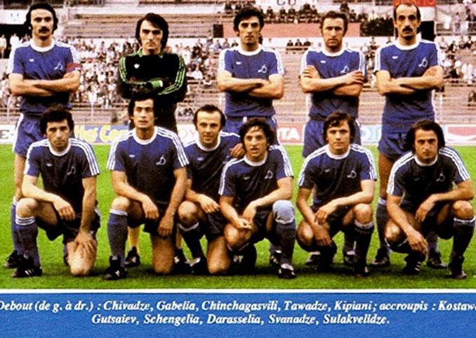 Dinamo Tbilisi en la temporada 1980-1981 - Odio Eterno Al Fútbol Moderno