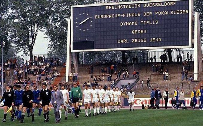 Final de la Recopa de 1981 entre Dinamo Tbilisi y Carl Zeiss Jena - Odio Eterno Al Fútbol Moderno