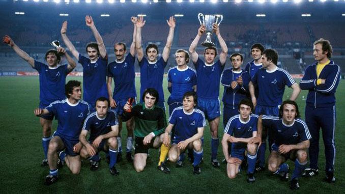 Dinamo Tiblisi campeón de la Recopa de Europa en 1981 - Odio Eterno Al Fútbol Moderno