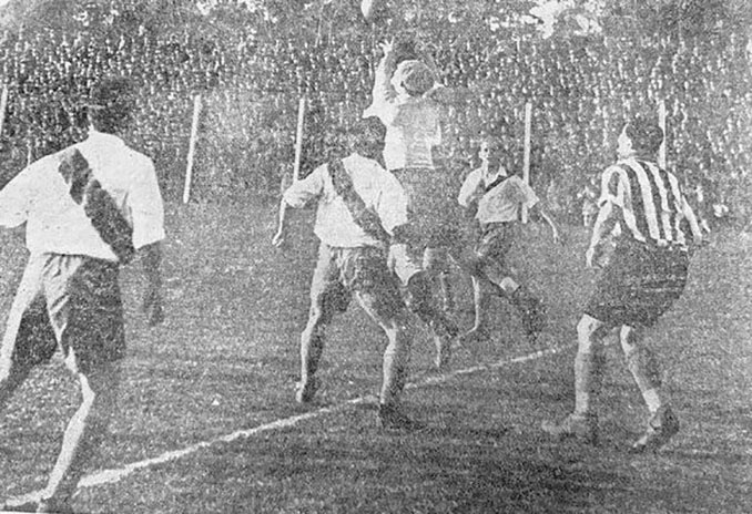 """El """"gol de la casilla"""" se produjo en el Estudiantes vs River Plate de 1932 - Odio Eterno Al Fútbol Moderno"""