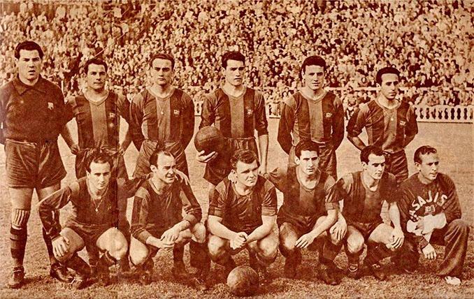 FC Barcelona en 1953 - Odio Eterno Al Fútbol Moderno