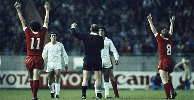 Final de la Copa de Europa de 1981 entre Liverpool y Real Madrid - Odio Eterno Al Fútbol Moderno