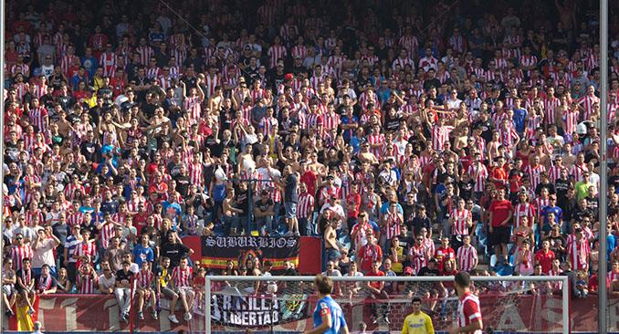 Frente Atlético en el Vicente Calderón - Odio Eterno Al Fútbol Moderno