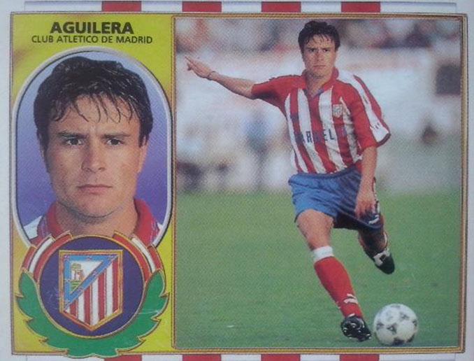 Cromo de Carlos Aguilera - Odio Eterno Al Fútbol Moderno
