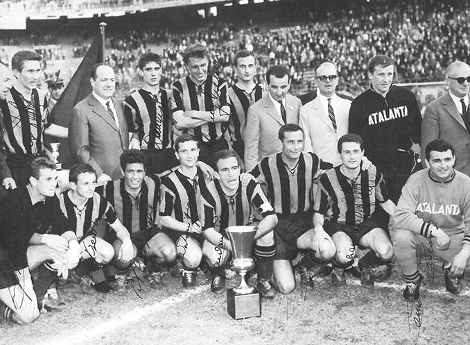 El Atalanta conquistó su primer título en 1963 - Odio Eterno Al Fútbol Moderno