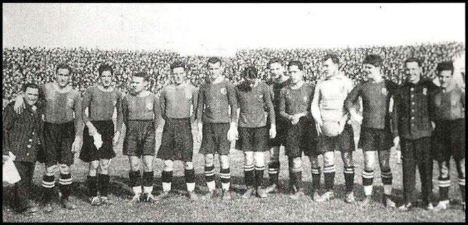 FC Barcelona en 1926 - Odio Eterno Al Fútbol Moderno