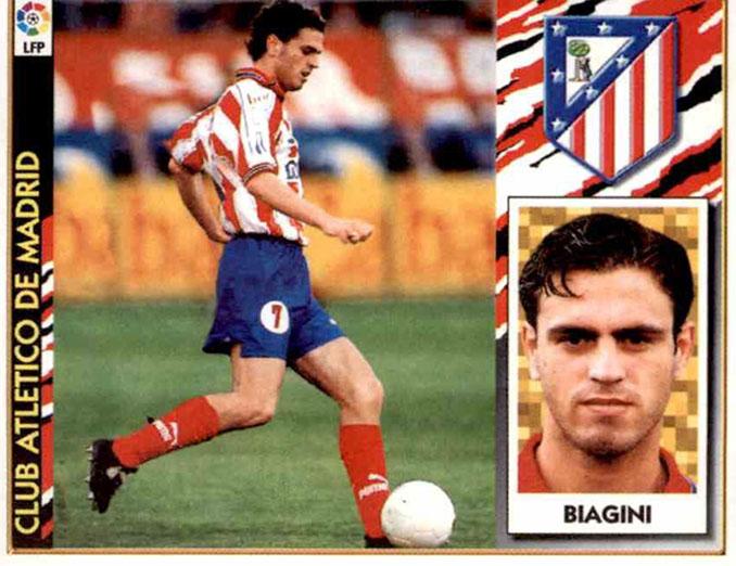 Cromo de Leo Biagini - Odio Eterno Al Fútbol Moderno