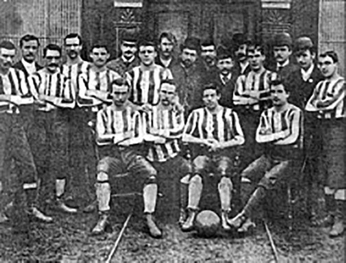 Celtic de Glasgow en 1889 - Odio Eterno Al Fútbol Moderno