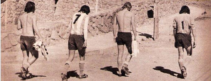 """Cuatro futbolistas de la """"selección fantasma"""" - Odio Eterno Al Fútbol Moderno"""