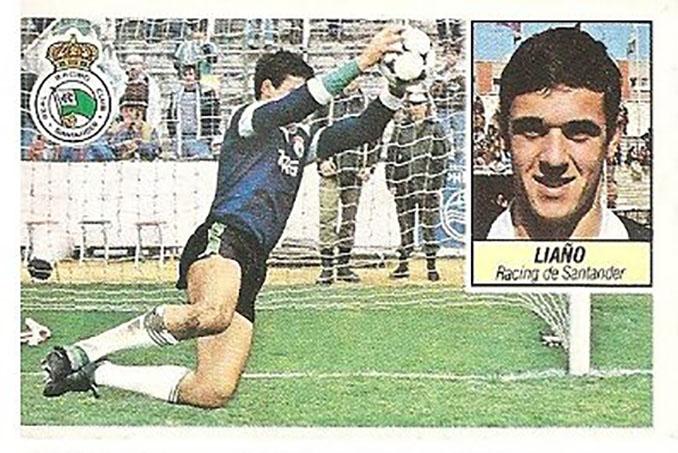 Cromo de Paco Liaño - Odio Eterno Al Fútbol Moderno