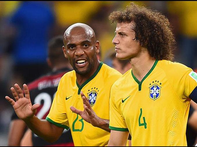 Seguro que la broma de Maicon no le hizo ninguna gracia a David Luiz - Odio Eterno Al Fútbol Moderno