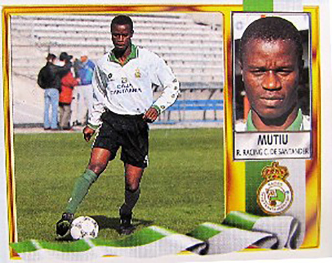 Cromo de Mutiu Adepoju - Odio Eterno Al Fútbol Moderno