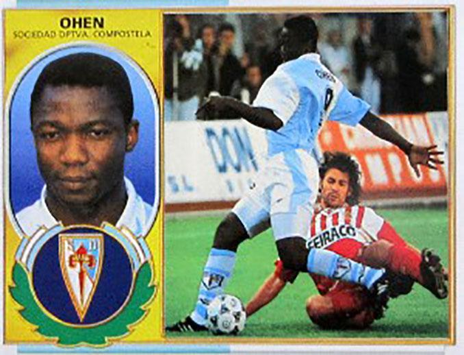Cromo de Christopher Ohen - Odio Eterno Al Fútbol Moderno