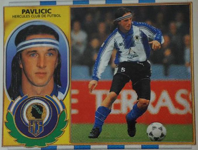 Cromo de Dubravko Pavlicic - Odio Eterno Al Fútbol Moderno