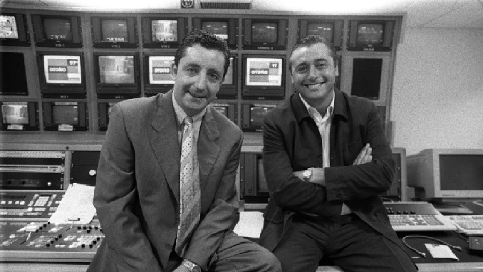 """Josep Pedrerol con Michael Robinson en los inicios de """"El Día Después"""" - Odio Eterno Al Fútbol Moderno"""