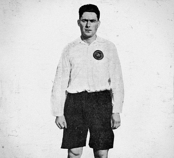 """Patricio Pedro Escobal, uno de """"Los Pericos"""", durante su etapa en el Real Madrid - Odio Eterno Al Fútbol Moderno"""