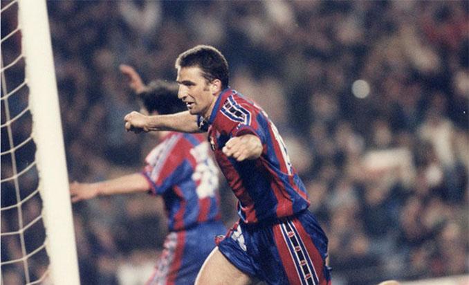 Pizzi fue el héroe en la remontada del Barcelona ante el Atlético de Madrid en 1997 - Odio Eterno Al Fútbol Moderno