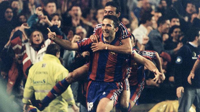 Pizzi selló la remontada del FC Barcelona ante el Atlético de Madrid en la Copa de la 96-97 - Odio Eterno Al Fútbol Moderno