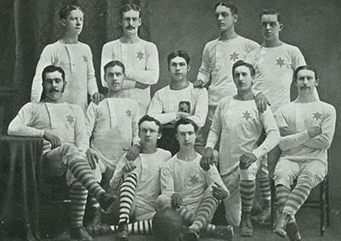 Jugadores del Rangers en 1872 - Odio Eterno Al Fútbol Moderno