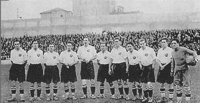 El Real Madrid lució calzón negro durante la temporada 1925-1926 - Odio Eterno Al Fútbol Moderno