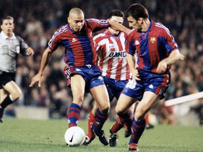 Ronaldo fue la bestia negra del Atlético de Madrid durante la temporada 96-97 - Odio Eterno Al Fútbol Moderno
