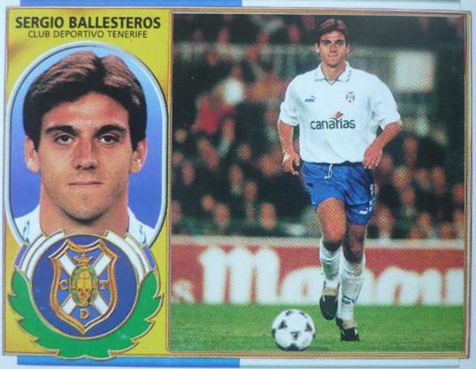 Cromo de Sergio Ballesteros - Odio Eterno Al Fútbol Moderno