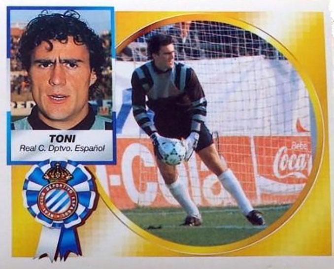 Cromo de Toni Jiménez - Odio Eterno Al Fútbol Moderno
