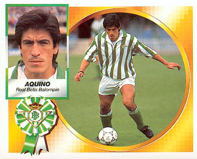 "Cromo de ""Toro"" Aquino - Odio Eterno Al Fútbol Moderno"