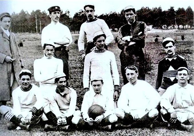 Durante sus primeros. años la camiseta del Athletic Club fue completamente blanca - Odio Eterno Al Fútbol Moderno